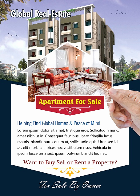 Home for Sale Flyer Fresh Apartment for Sale Flyer Template Shop Version