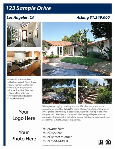Home for Sale Flyer Inspirational for Sale by Owner Flyer House Exterior