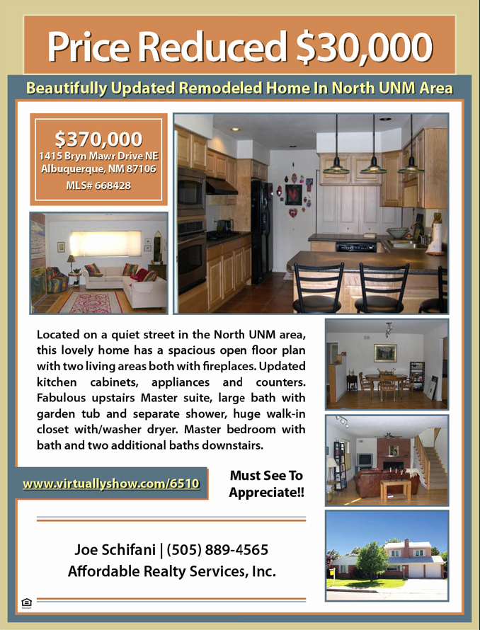 Home for Sale Flyer Inspirational Sample Property Flyer