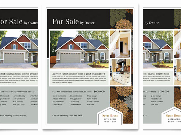 Home for Sale Flyer Lovely 36 Real Estate Flyer Templates Psd Ai Word Indesign