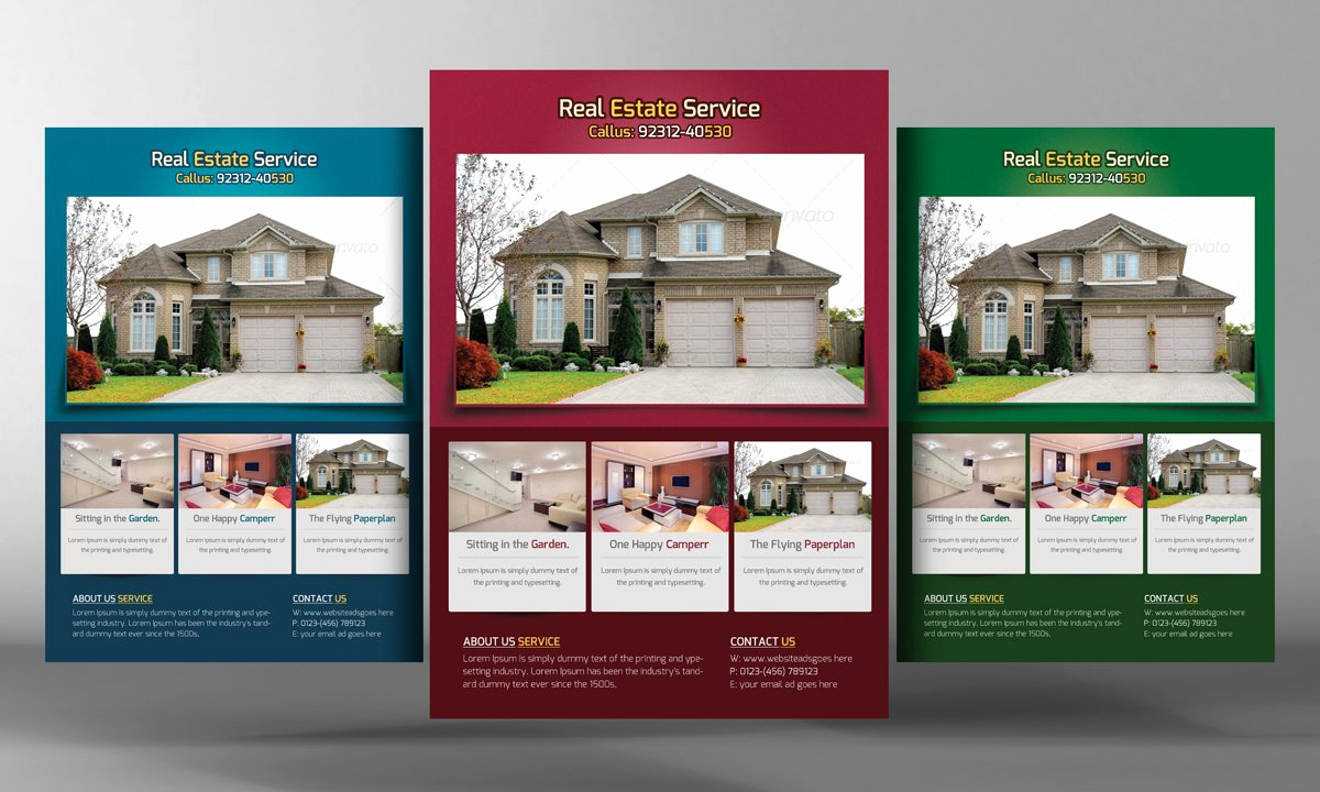 Home for Sale Flyer Luxury Real Estate Flyers Template Flyer Templates Creative