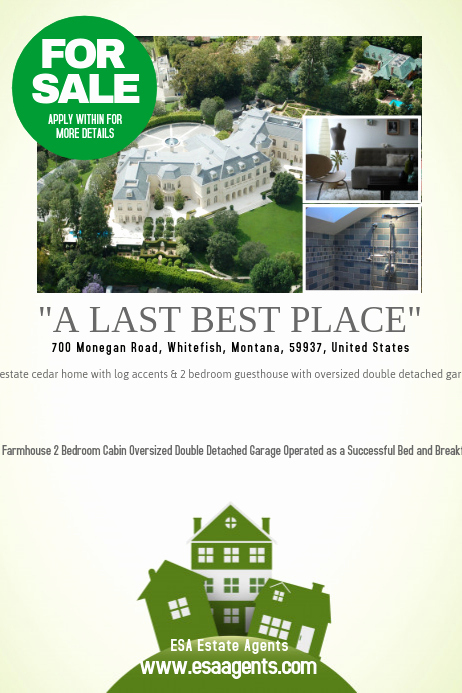 Home for Sale Flyer New for Sale Real Estate Flyer Template
