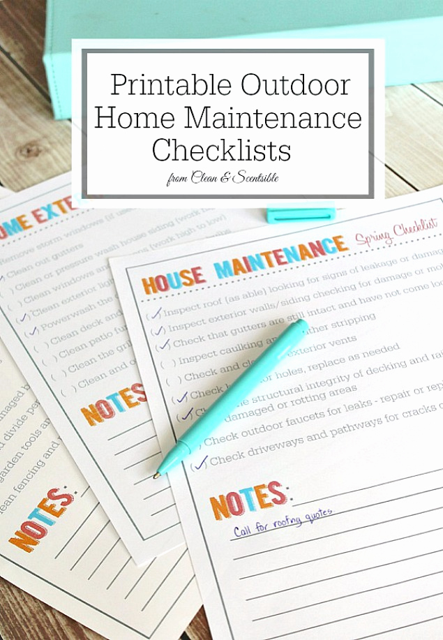 Home Maintenance Checklist Printable Inspirational Simple Ways to Increase the Curb Appeal Of Your Home