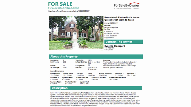 House for Sale Flyer Elegant A Great House for Sale by Owner Flyer forsalebyowner