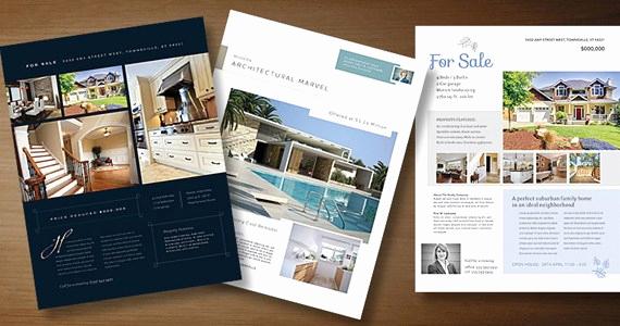 House for Sale Flyer Elegant Real Estate Flyer Templates to Market Your Property