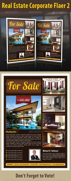 House for Sale Flyer Inspirational Modern Flyer for Sale by Owner