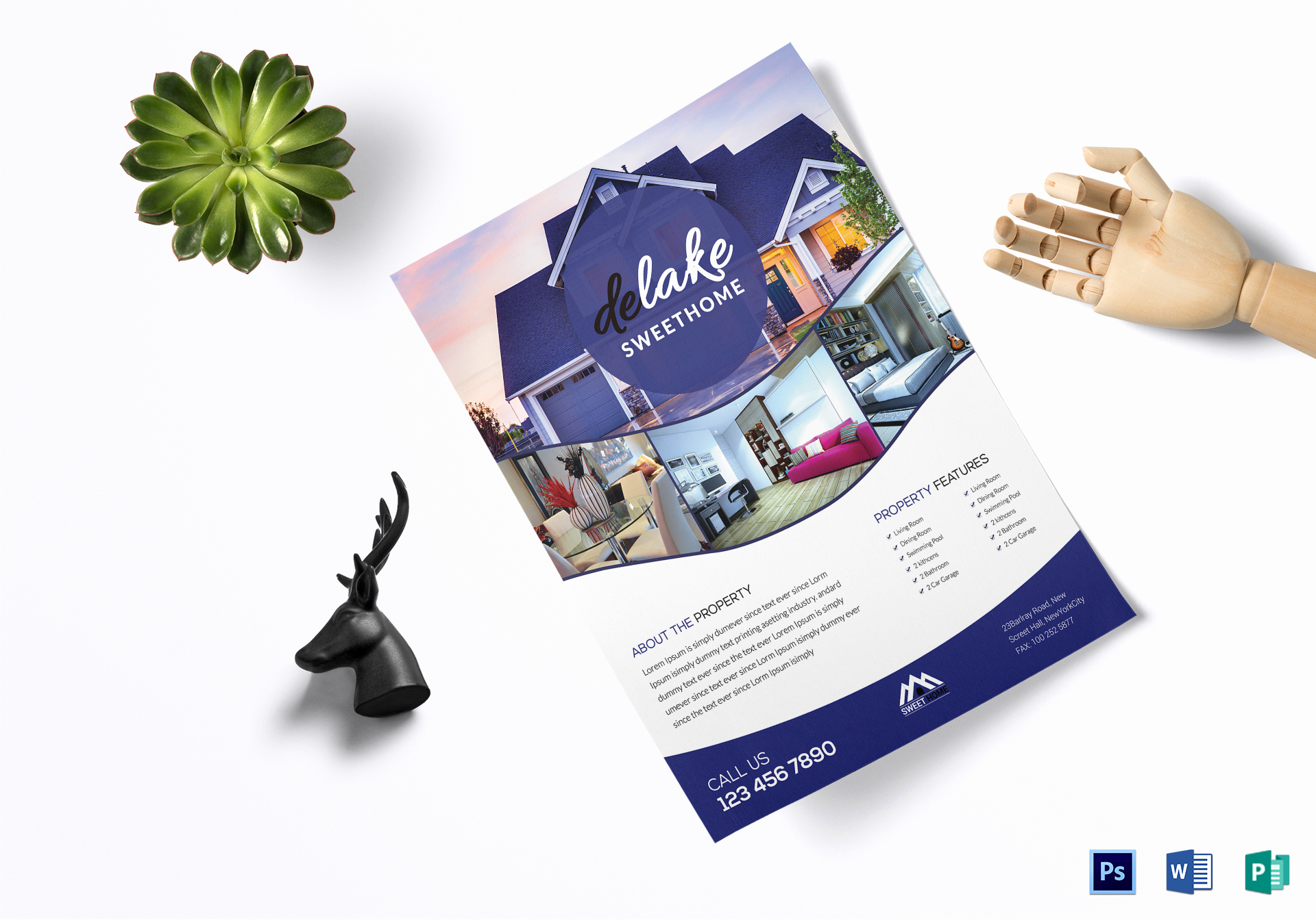 House for Sale Flyer Unique House for Sale Flyer Design Template In Word Psd Publisher