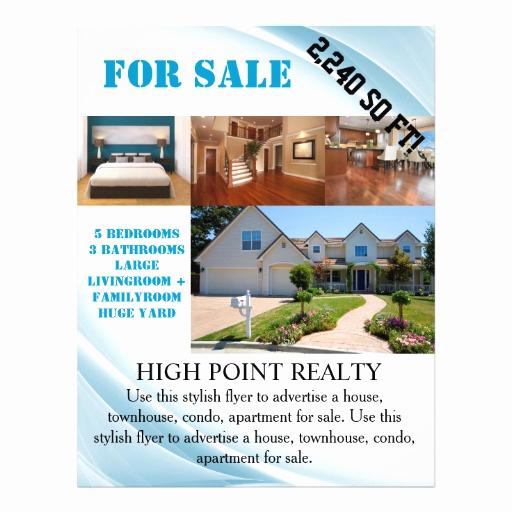 House for Sale Flyer Unique Modern Real Estate Realtor for Sale Flyer