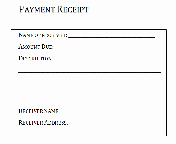 How to Make A Receipt Elegant 31 Payment Receipt Samples Pdf Word Excel Pages Numbers
