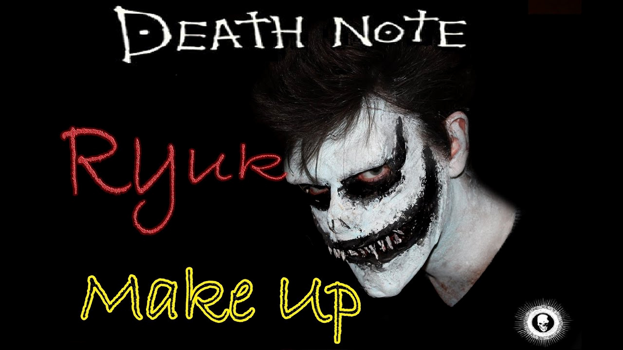 How to Make An Obituary New Ryuk Death Note Make Up