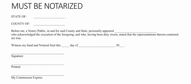 How to Notarize A Letter Inspirational 25 Notarized Letter Templates & Samples Writing Guidelines