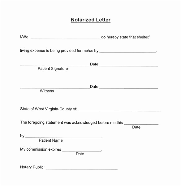 How to Notarize A Letter Lovely Notarizing A Letter