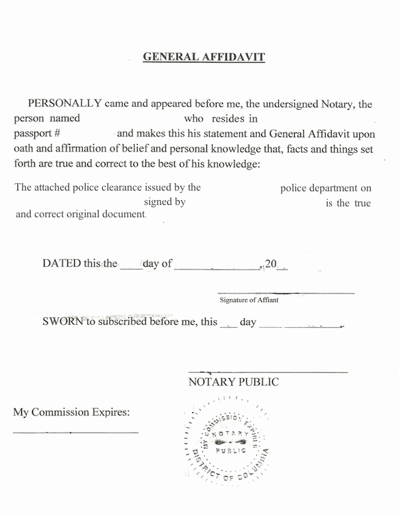 How to Notarize A Letter Unique How to Notarize A State City or County U S Police