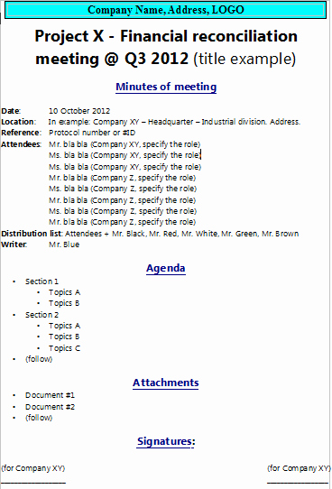 How to Write Minutes Best Of How to Write Minutes Of Meeting the Project Manager Pad