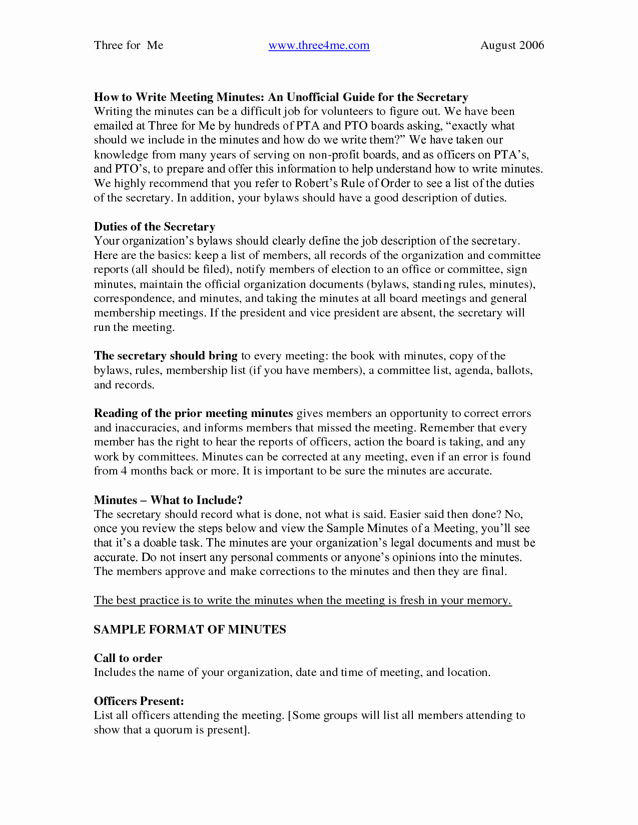How to Write Minutes Elegant Best S Of for Writing Meeting Minutes format