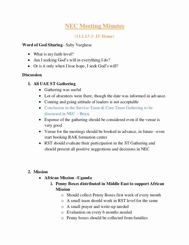 How to Write Minutes Luxury How to Write Up Minutes How to Write Minutes Of Meeting