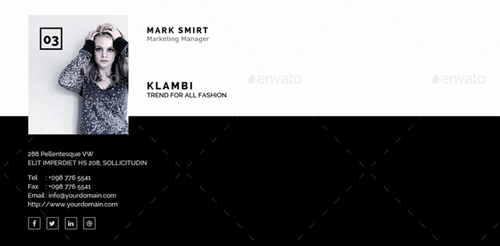 Html Email Signature Template Awesome 15 Awesome Email Signature Psd Templates – Bashooka