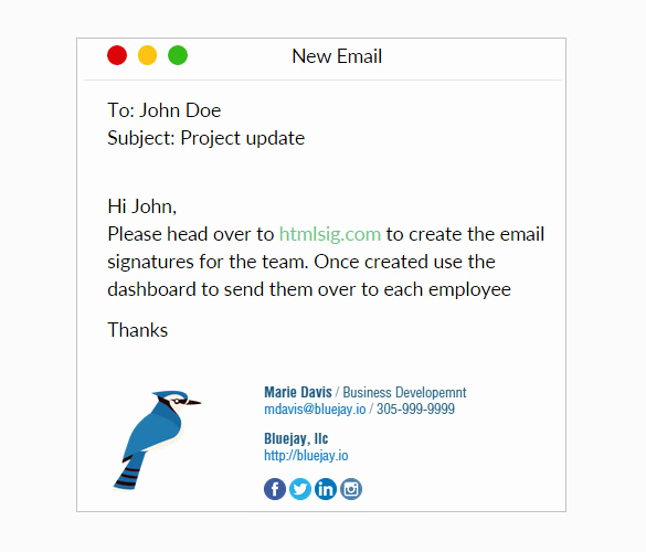 Html Email Signature Template Best Of 31 Best Email Signature Generator tools & Line Makers