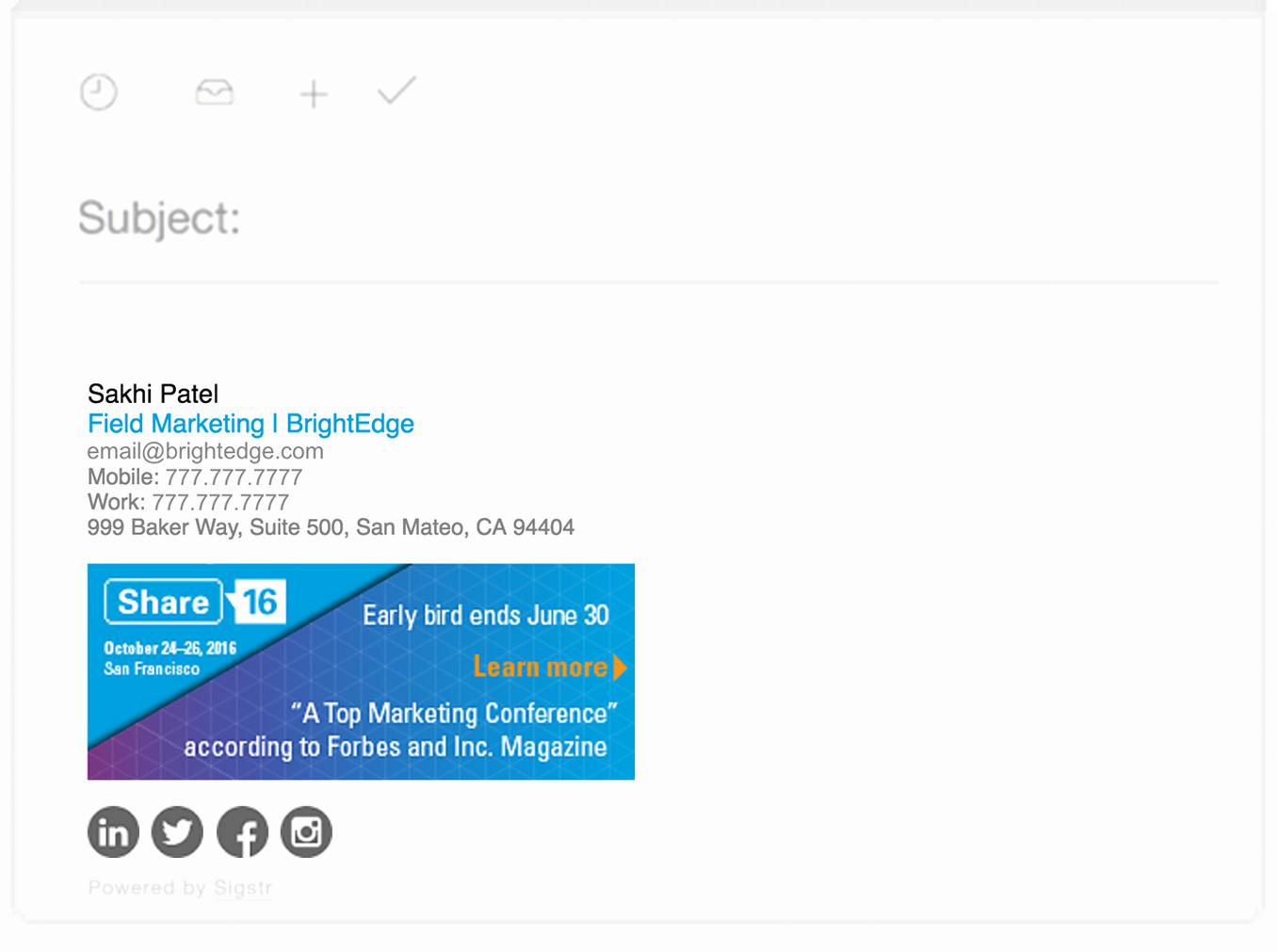 Html Email Signature Template Fresh 16 Digital Marketing events Our Radar