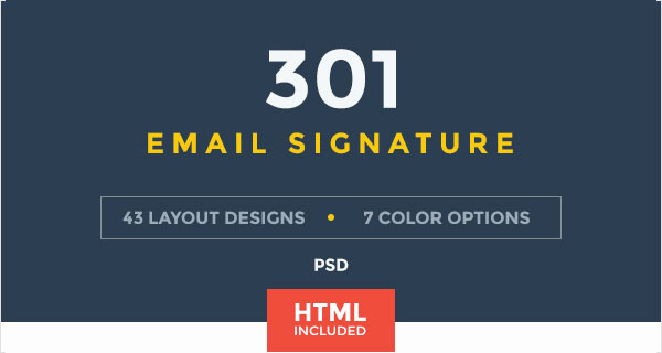 Html Email Signature Template Unique 50 Best Professional HTML & Outlook Email Signature