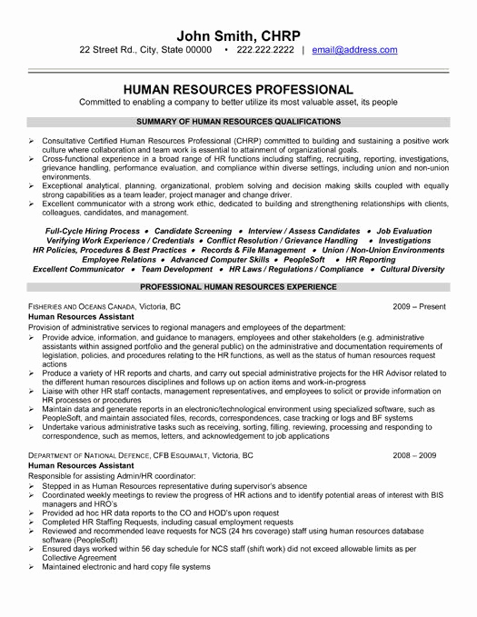 Human Resources Manager Resume Best Of Here to Download This Human Resources Professional
