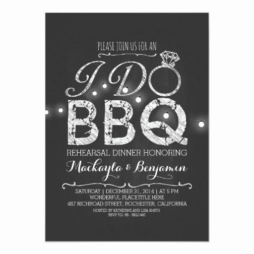 I Do Bbq Invitations Awesome I Do Bbq Rehearsal Dinner Invitation