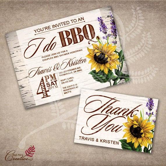 I Do Bbq Invitations Fresh I Do Bbq Invitation Couples Bbq Shower Invitation I Do by