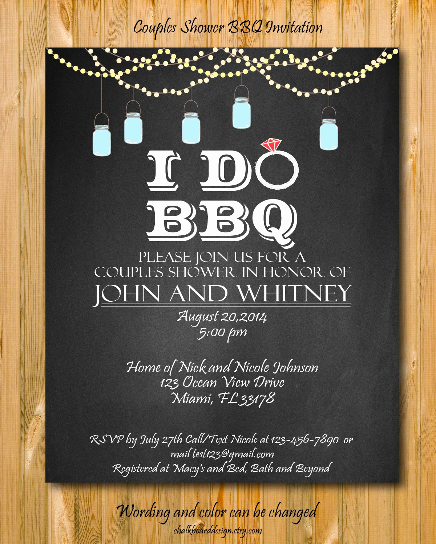 I Do Bbq Invitations Lovely Printable I Do Bbq Invitation Diy Party Invitation I Do Bbq