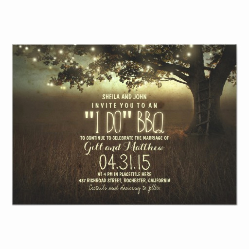 I Do Bbq Invitations New after Wedding I Do Bbq Invitation