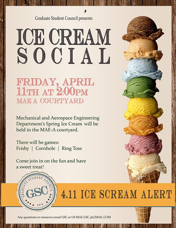 Ice Cream social Flyer Inspirational Print Ice Cream social Flyer On Behance