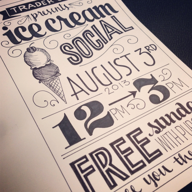 Ice Cream social Flyer New Ice Cream social Flyer