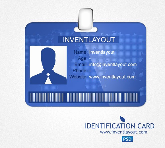 Identification Card Online Free Best Of Download Identification Card Psd