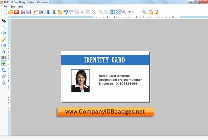 Identification Card Online Free Inspirational Download Funny Id Cards Template software School Id