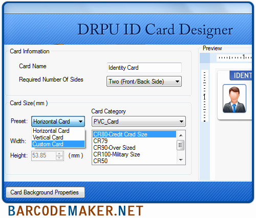 Identification Card Online Free Inspirational Freware & Shareware Student Id Card Creator software S