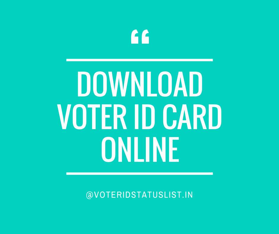 Identification Card Online Free Unique Download Voter Id Card A Definitive Guide by Experts