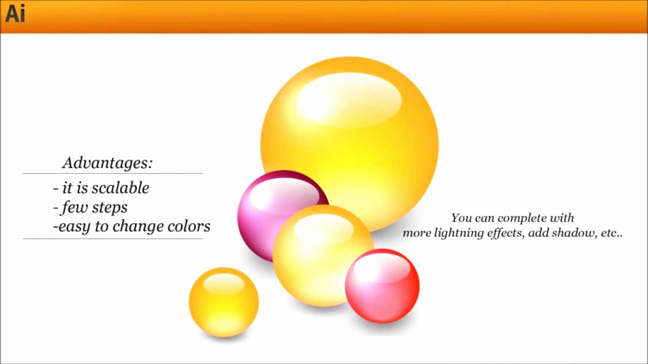 Illustrator Tutorials for Beginners Fresh Glossy Ball In Adobe Illustrator Popular Subject for