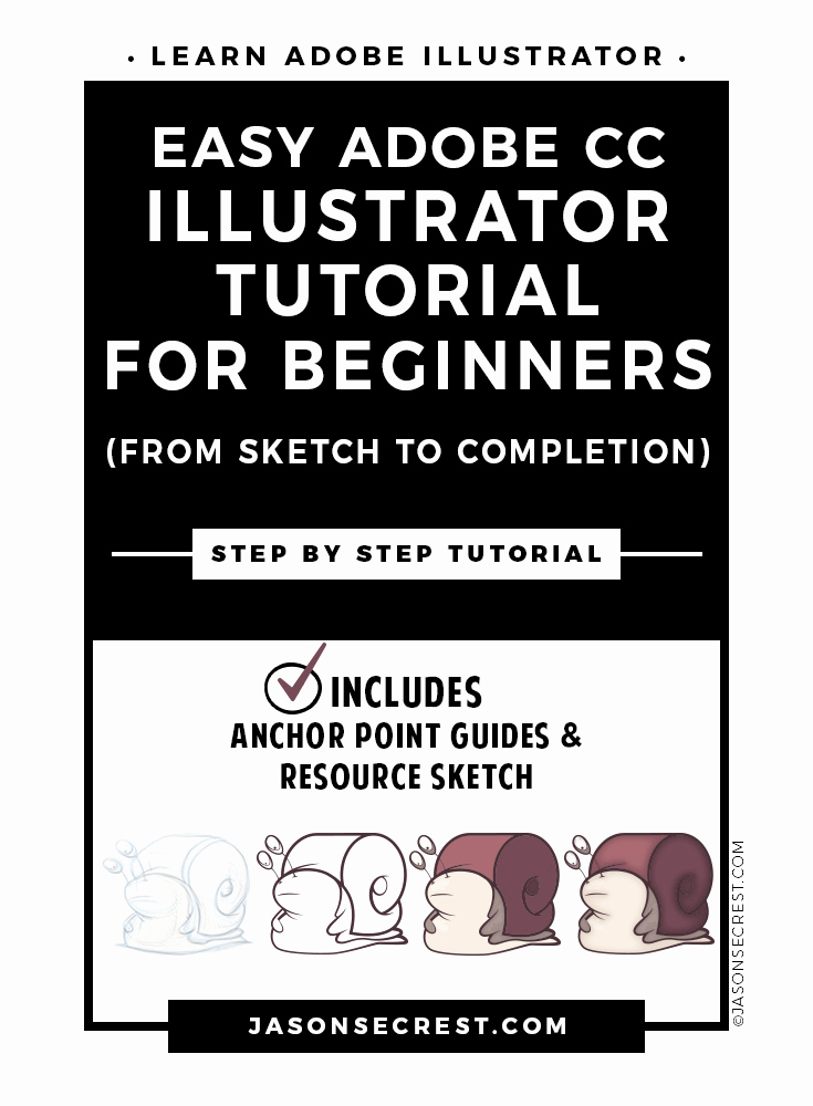 Illustrator Tutorials for Beginners Unique Easy Adobe Illustrator Cc Tutorial for Beginners Jason
