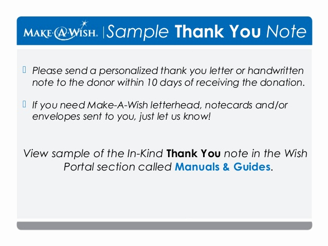 In Kind Donation Letter New asking for In Kind Donations