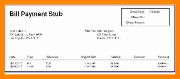 Independent Contractor Pay Stub Template Awesome 7 Independent Contractor Pay Stub Template