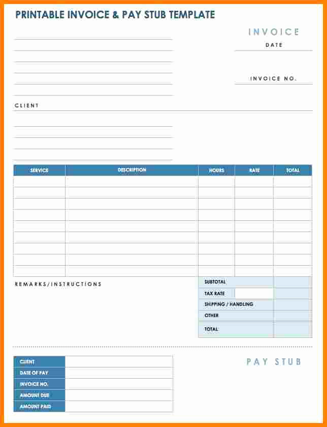 Independent Contractor Pay Stub Template Beautiful 7 Independent Contractor Pay Stub Template