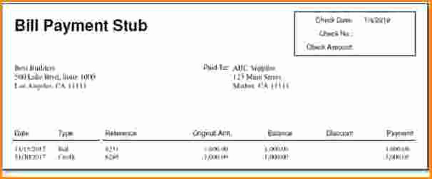 Independent Contractor Pay Stub Template Fresh 5 Independent Contractor Pay Stub Template