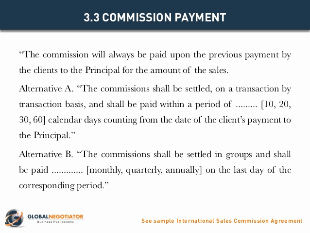 Independent Contractor Sales Commission Agreement Lovely International Sales Mision Agreement