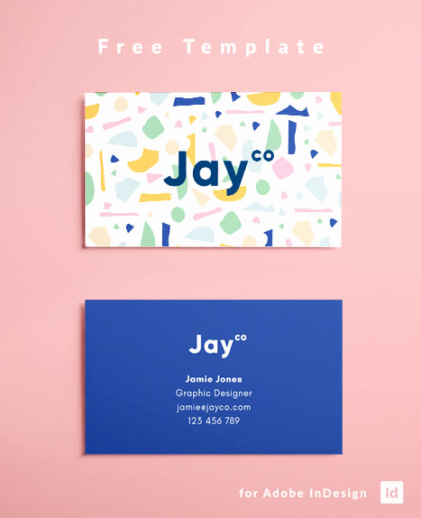 Indesign Business Card Template Fresh Indesign Business Card Template