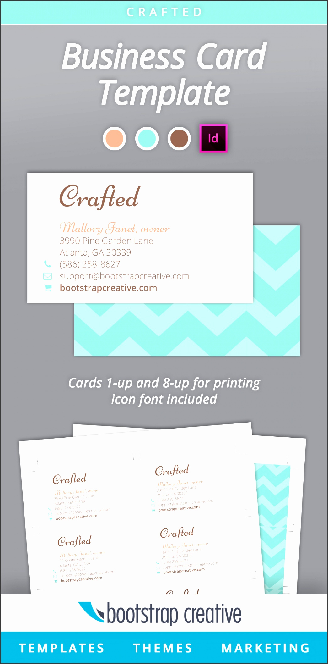 Indesign Business Card Template Inspirational 5 Adobe Indesign Business Card Template Sampletemplatess