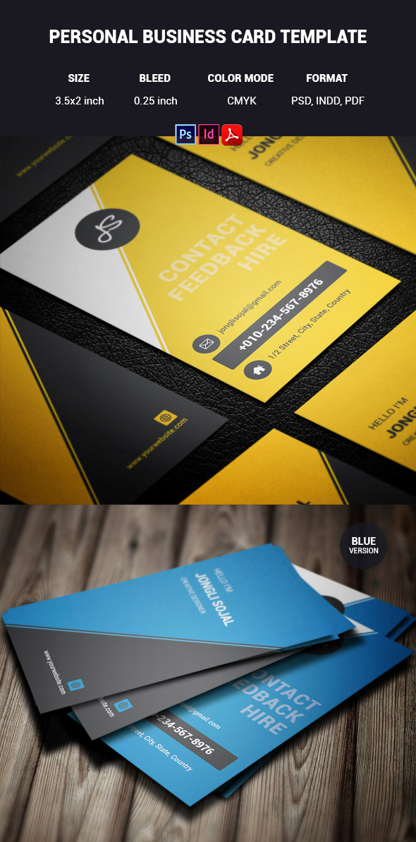 Indesign Business Card Template Lovely 15 Premium Business Card Templates In Shop