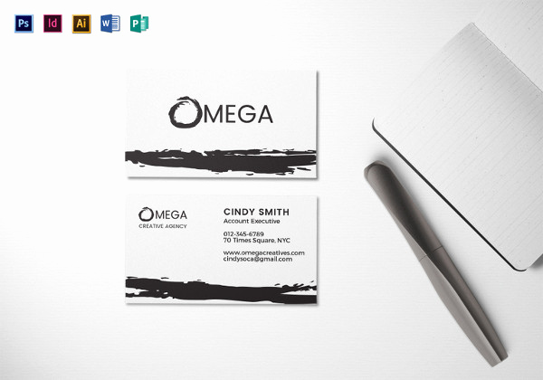 Indesign Business Card Template Luxury 63 Corporate Business Card Templates Indesign Ai Word