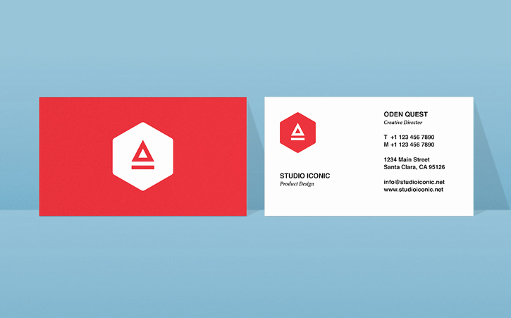 Indesign Business Card Template New Business Card Design In Indesign