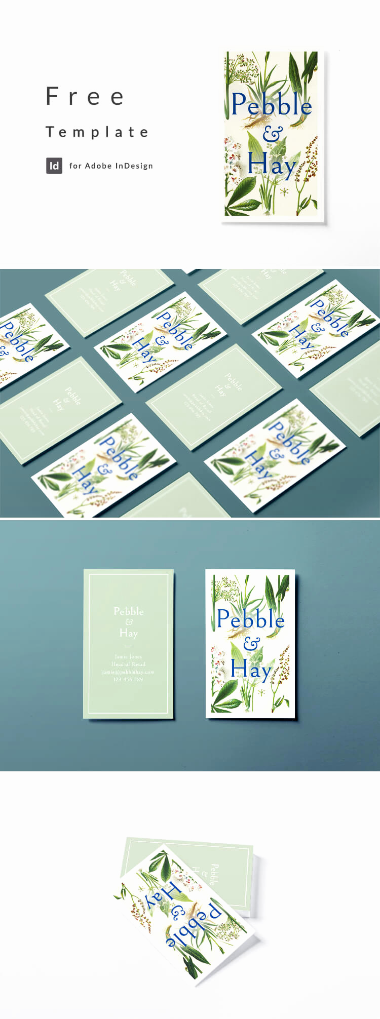 Indesign Business Cards Templates Inspirational Vintage Business Card Template for Indesign