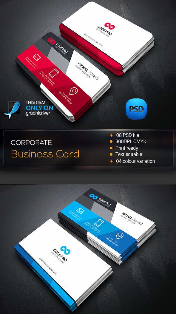 Indesign Business Cards Templates Unique 15 Premium Business Card Templates In Shop