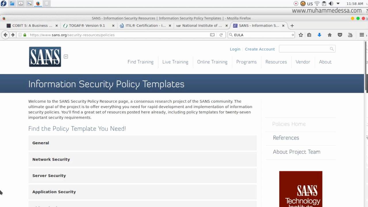 Information Security Policy Template New 16 Ethical Hacking Information Security Policy Template